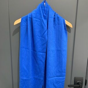 Marc Jacobs cashmere scarf blue